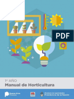 Manual de Horticultura 1° Año