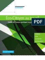 Guide Eco-Citoyen Des Bonnes Pratiques Au Bureau
