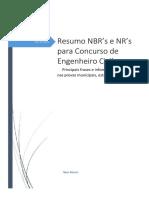 Resumo de Normas e NRs
