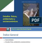 5. Estudios Previos. Fisicos, Ambientales y Socioeconomicos. UC-AIN-Active