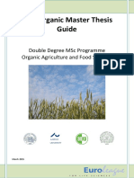 EUR-Organic Masters Thesis Guide Final Ul