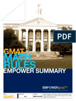 EMPOWERgmat Math Rules