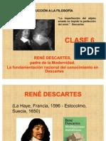 Intro Filosofia - Clase 6 Descartes 2010-2