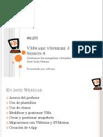 Curso Gratuito VMware VSphere 5 ONLINE - Gestionar Las MáQuinas Virtuales