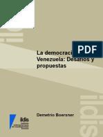 La democracia social de Venezuela