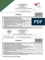 Rubrica Para La Evaluacic3b3n de Informes de Laboratorios
