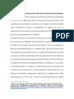 DERECHO COMERCIAL III (SOCIEDADES II) - SUCURSALES - CANCELACIÓN