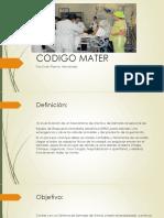 Codigo Mater