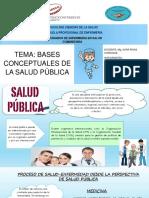 Bases Conceptuales salud pública