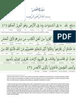 59. Sura Al Hashr