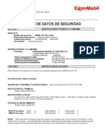 Mobil Dte Oil Light (Iso Vg 32) - Msds