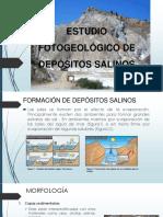 Estudio Fotogeológico de Depósitos Salinos