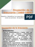Ocupacion de La Araucania