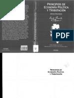 Principios_ de Economía Política y Tributación de David Ricardo