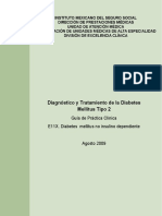 DIAGNOSTICO Y TRATAMIENTO DE LA DIABETES MELLITUS 2 GUIA CLINICA.pdf