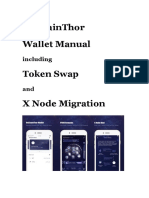 Vechainthor Wallet Manual en v1.0