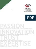 Grind Master Corporate Brochure