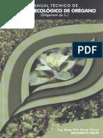 Manual cultivo de Oregano