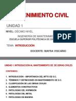 1.1 Introducción Al Mtto de o.c.