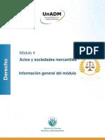 Información Gral. Del Modulo.