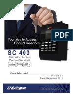 Sc403 User Manual