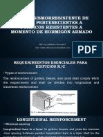 4. Diseño Sismoresistente de Vigas Pertenecientes a Pórticos Resistentes