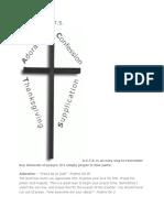 ACTS Prayer