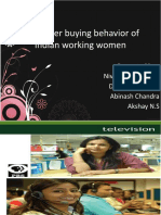 Consumer Buying Behavior of Indian Working Women...