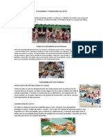 Costumbres y Tradiciones de Petén