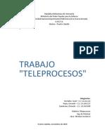 Trabajo Teleprocesos