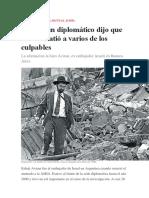 Voladura de la Amia - Diario Clarín