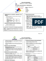 Msds insecticida