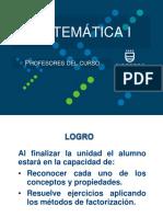 Factorización (Principales Conceptos)