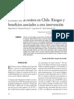 Estado Cesarea en Chile