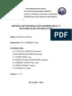 Sistemas de Información Empresarial y Seguridad de Informacion
