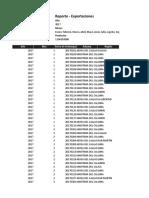 Reporte - Exportaciones33