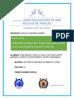 Primer Examen Parcial Historia Economica de America Latina