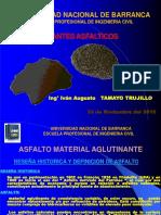 """Ligantes Asfálticos """"UNAB"""""""