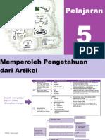 BAB 5 Bahasa Indonesia Kelas XII Semester Genap