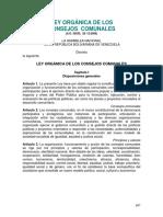 Ley Orgánica de los Consejos Comunales.pdf