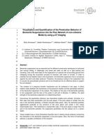Visualisasi and Quantification of the Prilaku Penetrasi Bentonite
