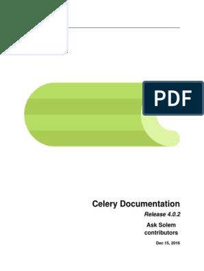Aprendiendo Celery | Python (Programming Language) | Hypertext