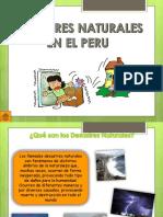 Desastres Naturales en El Peru