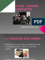 Recalde j. Cinema