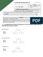 2.- Trio Aditivo Descomp Aditiva Suma y Restas Con Reserva y Problemas