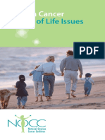 NOCC Quality of Life Issues