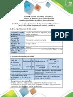 Guía de Actividades y Rubrica de Evaluación Fase 1. Socializar Causas Del Cambio Climático
