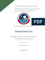DIAGNOSTICO DE LA SITUACION DE CONFLICTO SOCIOAMBIENTAL EN EL LOTE 64.docx