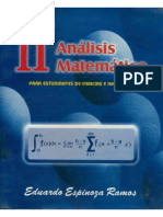 Analisis Matematico 2 - Eduardo Espinoza Ramos