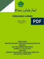 Publikasi Ilmaih Pengawas